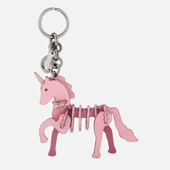 Coach Unicorn 🦄 primarose Pink bag charm key fob